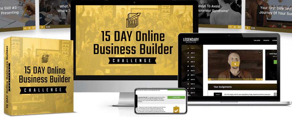 15 day online business challenge